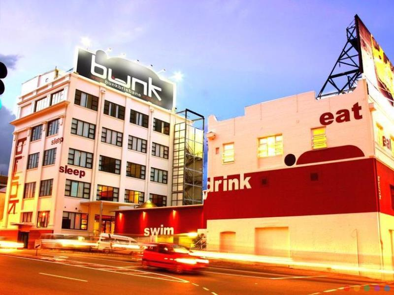 Bunk Backpackers budget hotel Fortitude Valley Brisbane