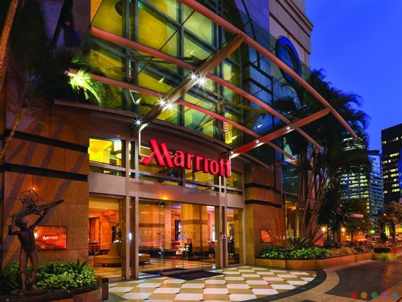 Brisbane Marriott Hotel luxury 5* hotel Brisbane CBD