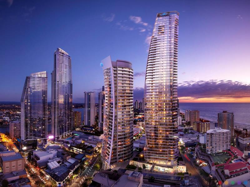 Hilton Hotel luxury hotel Surfers Paradise Gold Coast