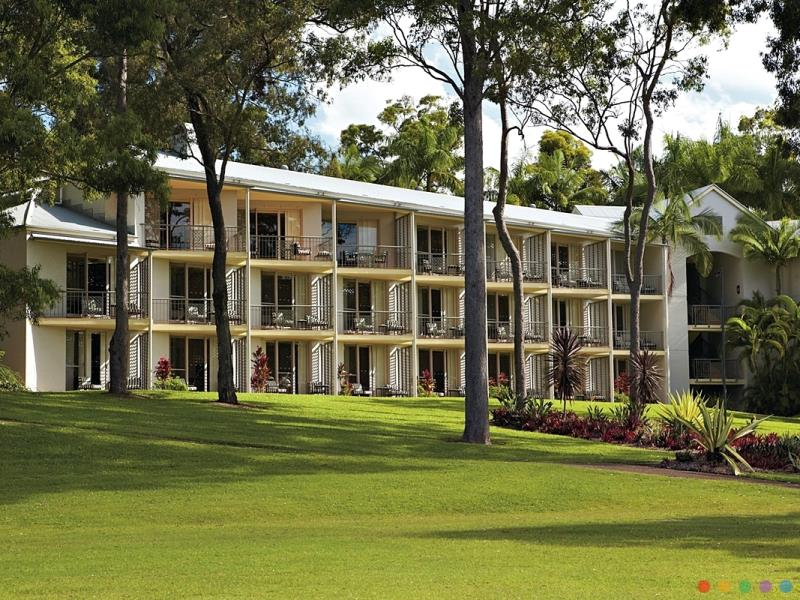 Intercontinental Sanctury Cove Resort luxury hotel Gold Coast