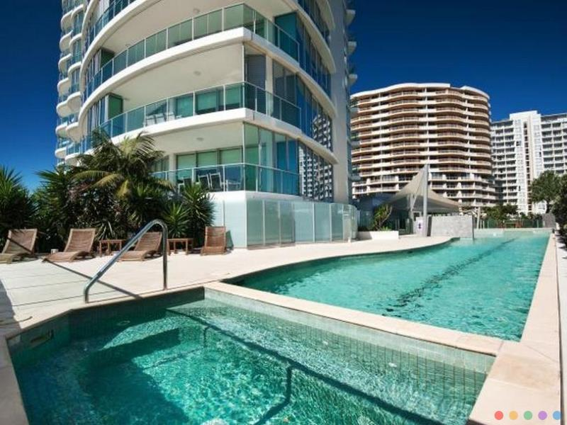 Reflections On The Sea Apartments Hotel luxury hotel Coolangatta Gold Coast