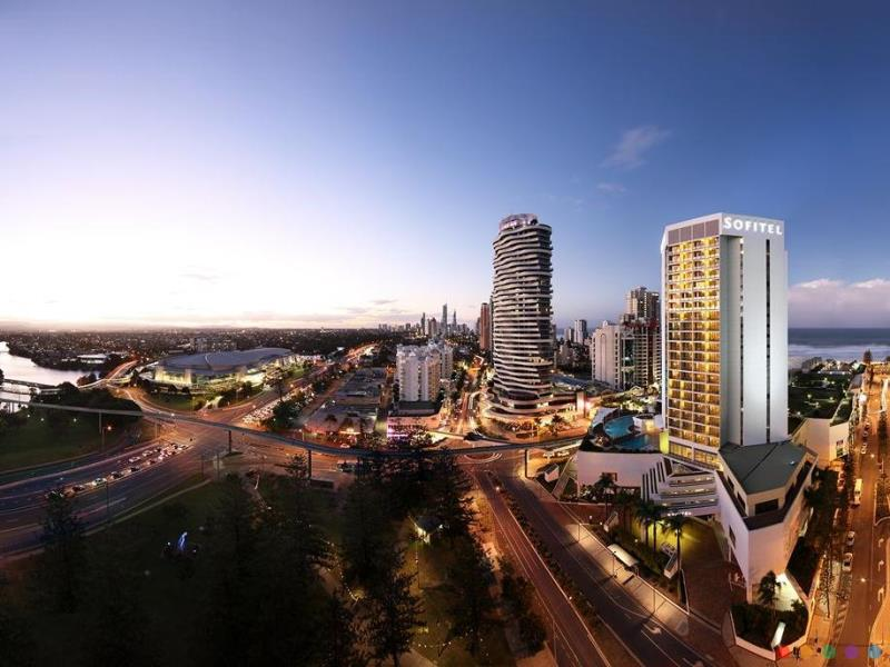 Sofitel Gold Coast Hotel luxury hotel Surfers Paradise Gold Coast
