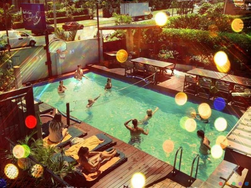 Surf N Sun Backpakcers budget hotel Surfers Paradise Gold Coast