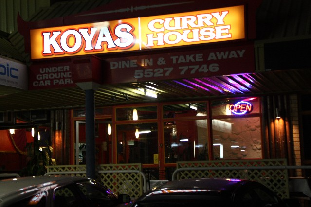 Koyas Curry House Indian Restaurant Mermaid Beach