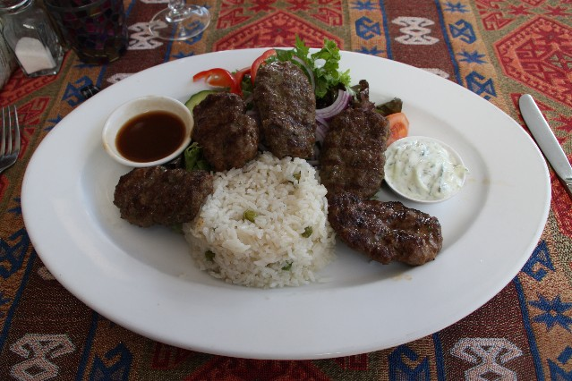 Mado Turkish Restaurant lamb kofta