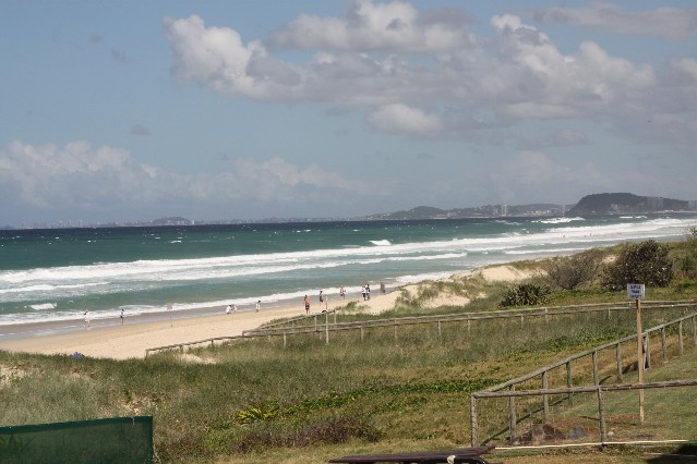 The view from Northcliffe Surf Club