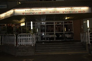 Pinocchio Italian Restaurant Mermaid Beach